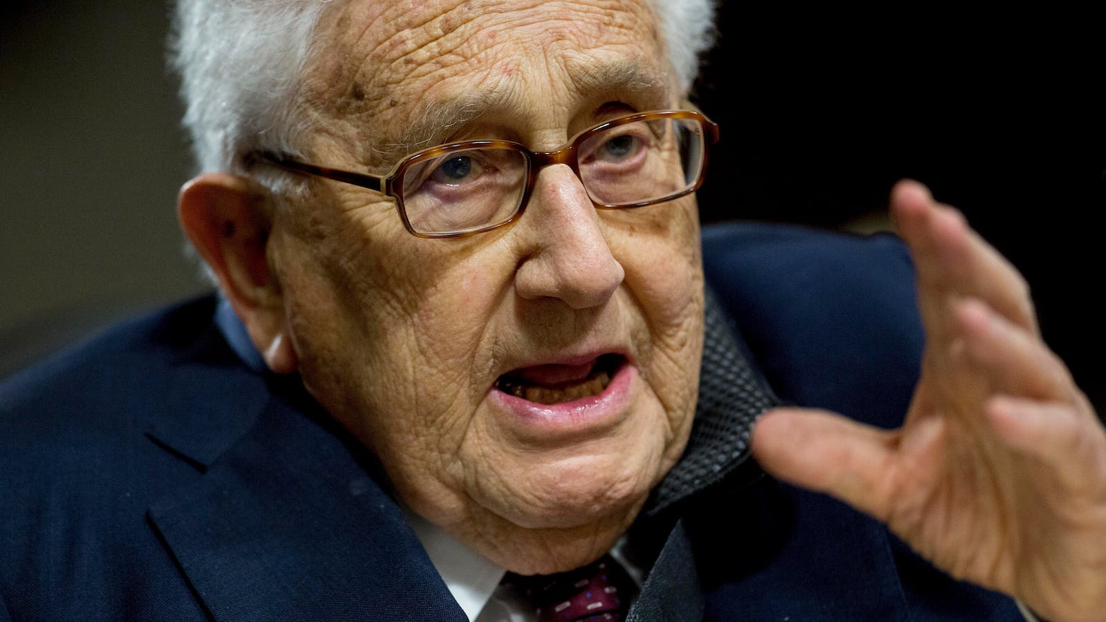 Henry Kissinger. Photo by Bloomberg.
