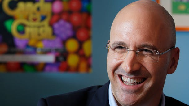 King Digital chief Riccardo Zacconi. Photo by Bloomberg.