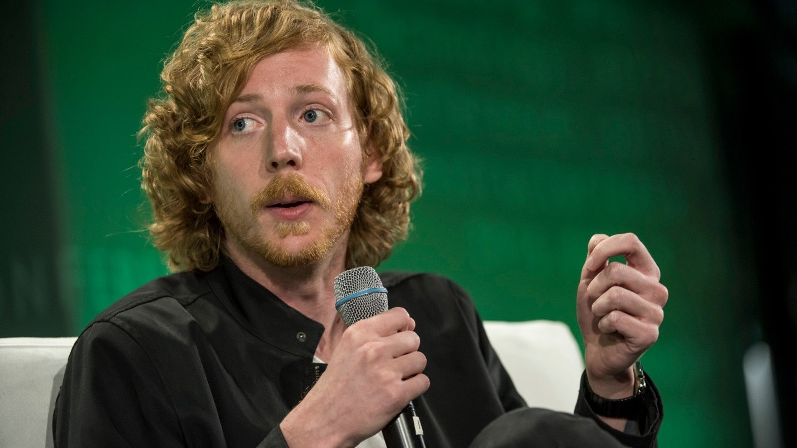 Chris Wanstrath, CEO of GitHub, which uses a bot to help run its business. Photo by Bloomberg.