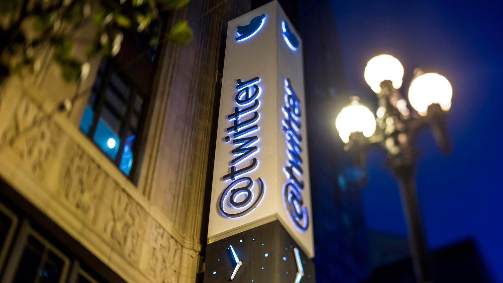 Twitter's San Francisco headquarters. Photo by Bloomberg.