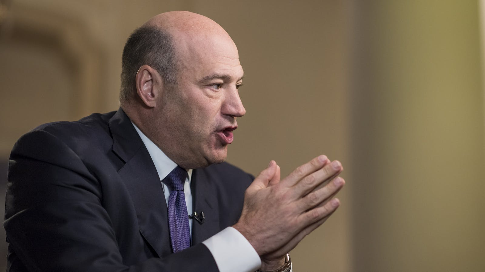 Goldman Sachs President and COO Gary Cohn in San Francisco this week. Photo by Bloomberg.