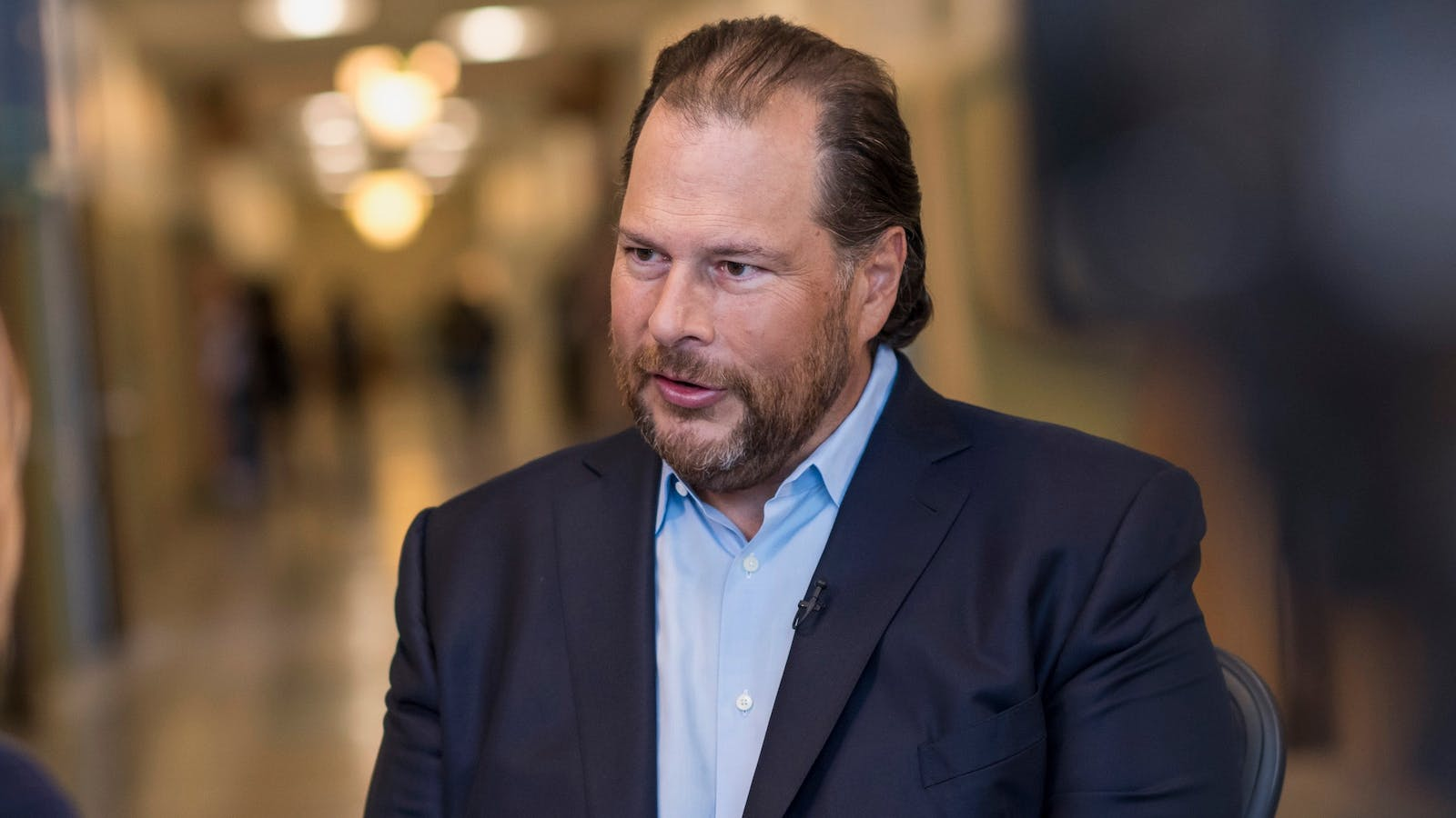 Marc Benioff. Photo by Bloomberg.
