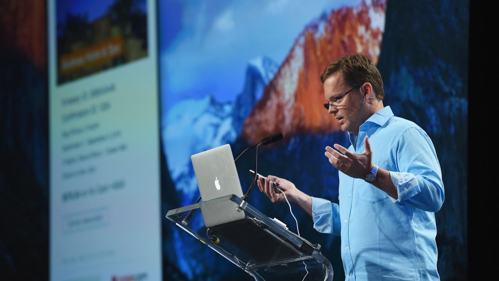 Viv co-founder Dag Kittlaus. Photo by Flickr/TechCrunch.