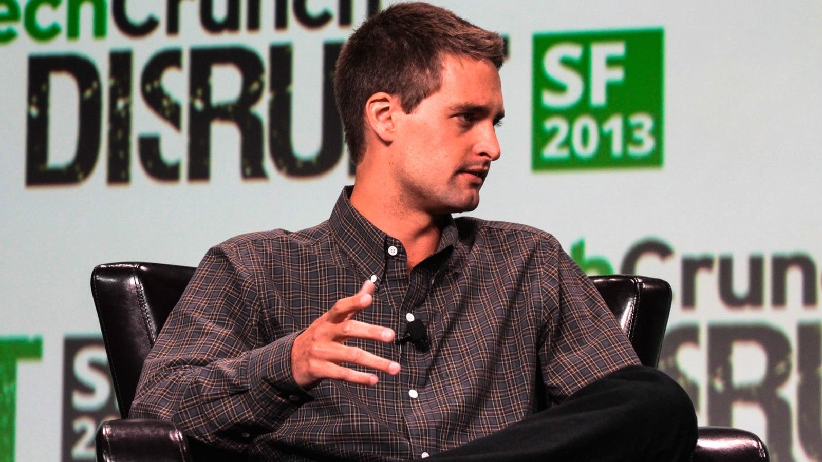 Snapchat CEO Evan Spiegel. Photo by Flickr/TechCrunch.