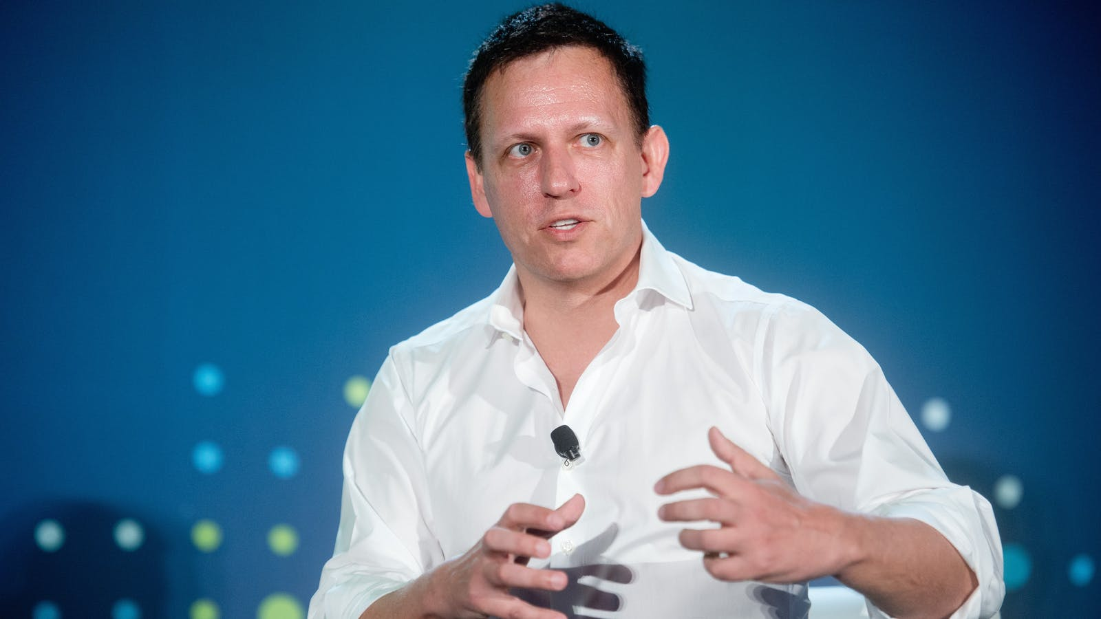 Peter Thiel. Photo by Bloomberg.