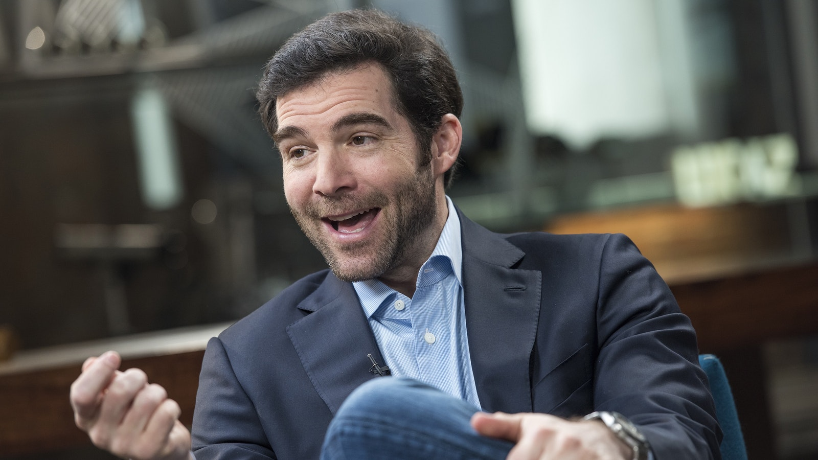 LinkedIn CEO Jeff Weiner. Photo by Bloomberg.