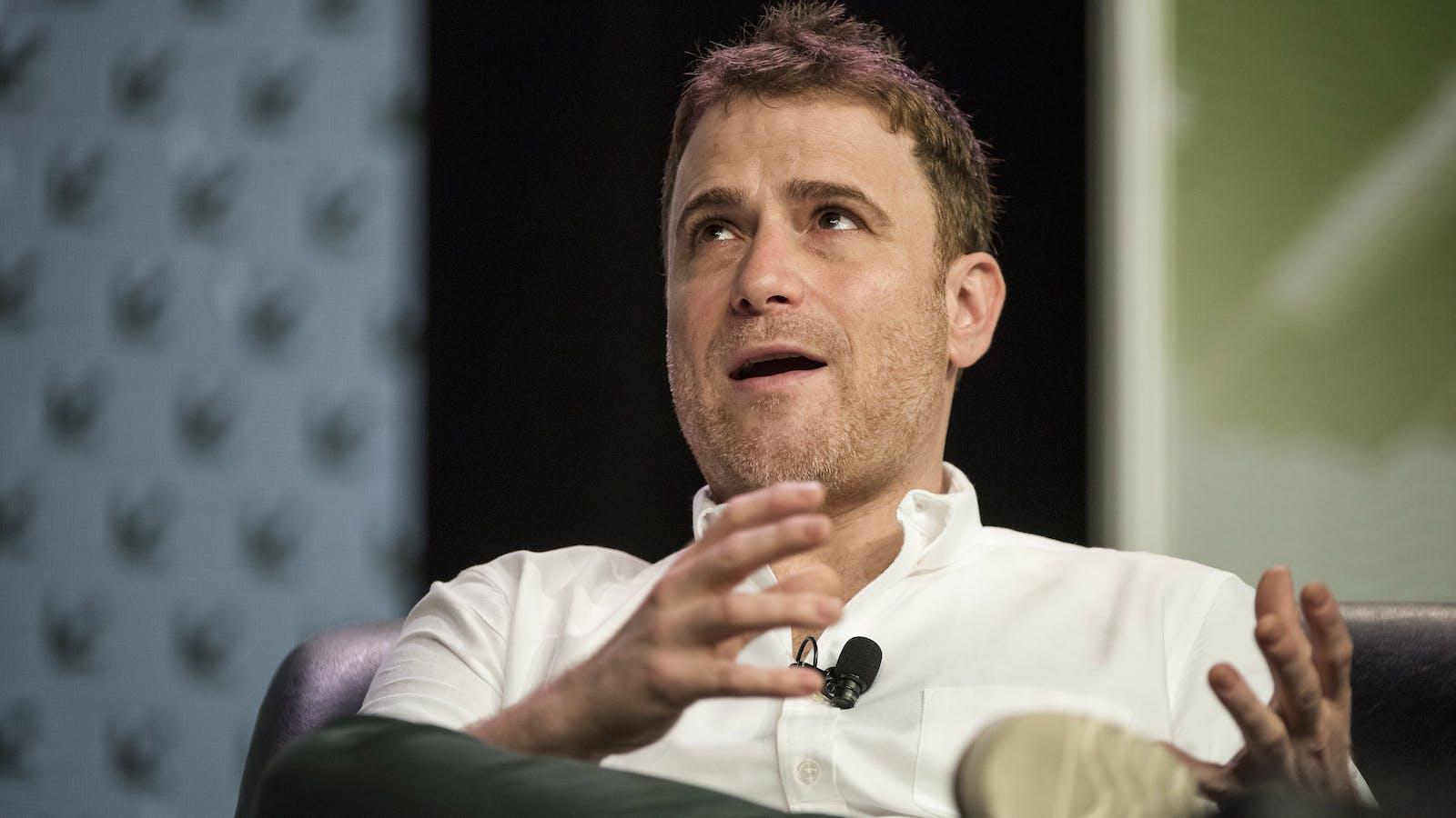 Slack CEO Stewart Butterfield. Photo by Bloomberg.
