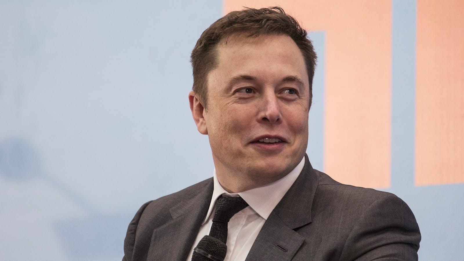Elon Musk. Photo by Bloomberg.