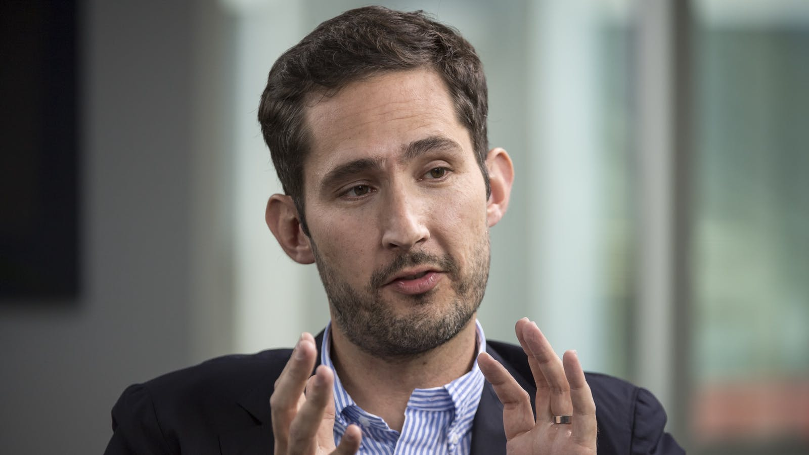 Instagram CEO Kevin Systrom. Photo by Bloomberg.