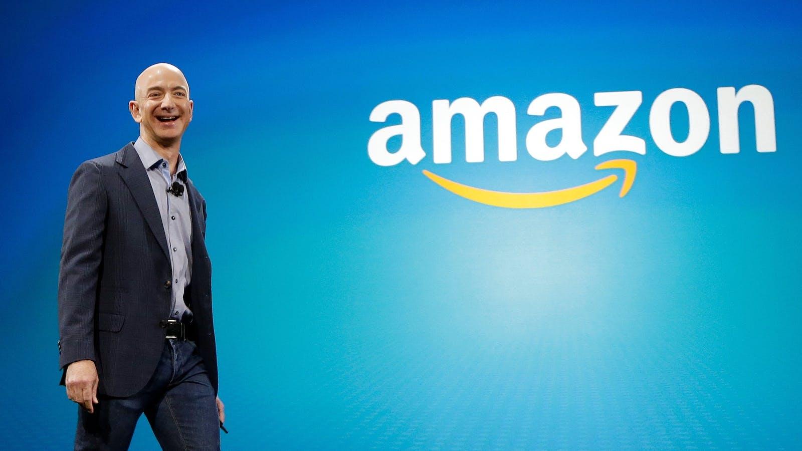 Amazon CEO Jeff Bezos. Photo by AP.