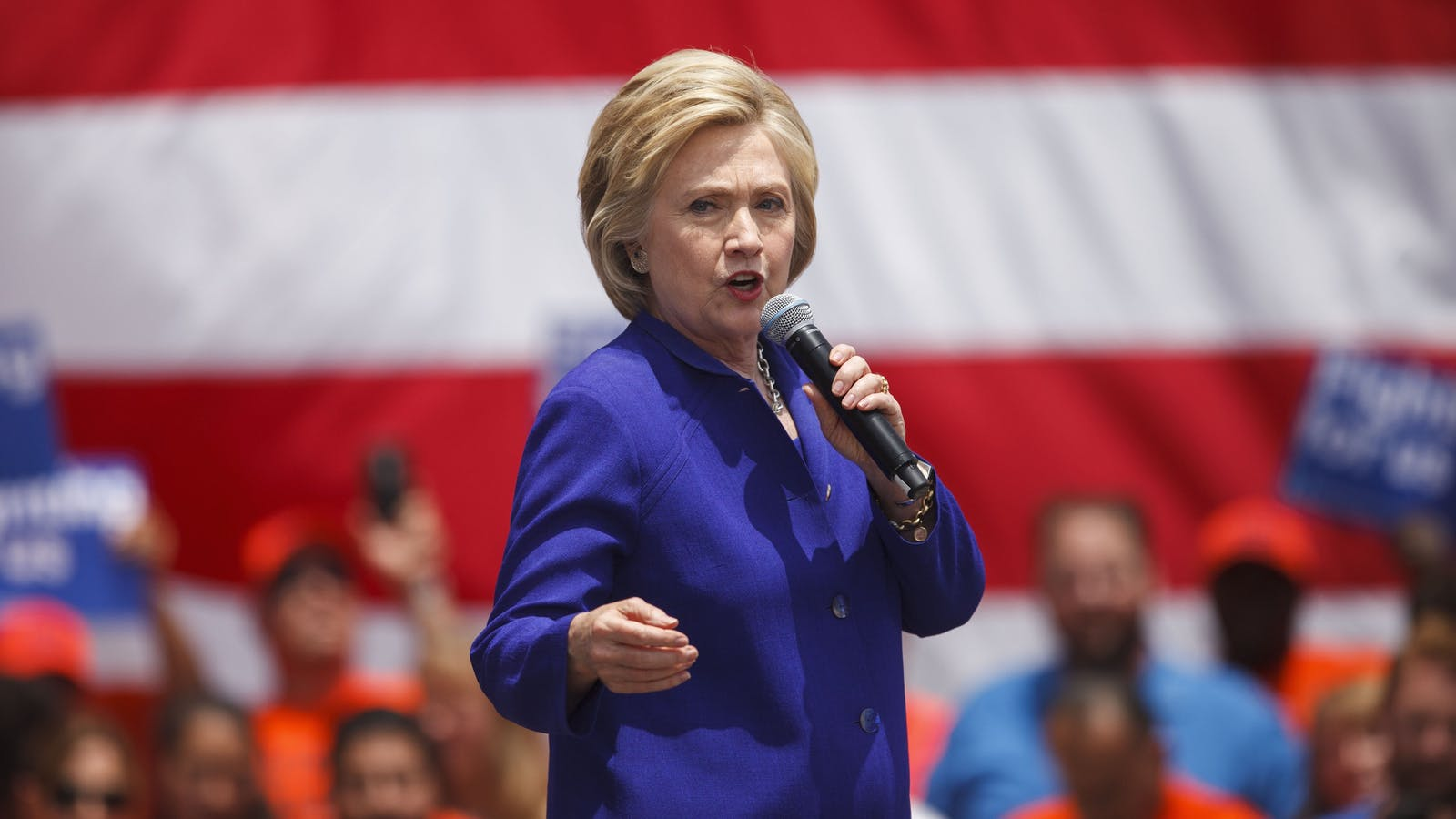 Presumptive Democratic Presidential Nominee Hillary Clinton. Photo by Bloomberg.