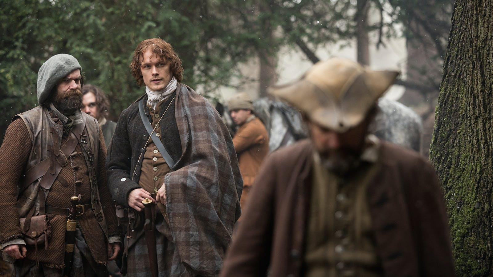 "A scene from Starz's ""Outlander"" series. Photo by Starz."