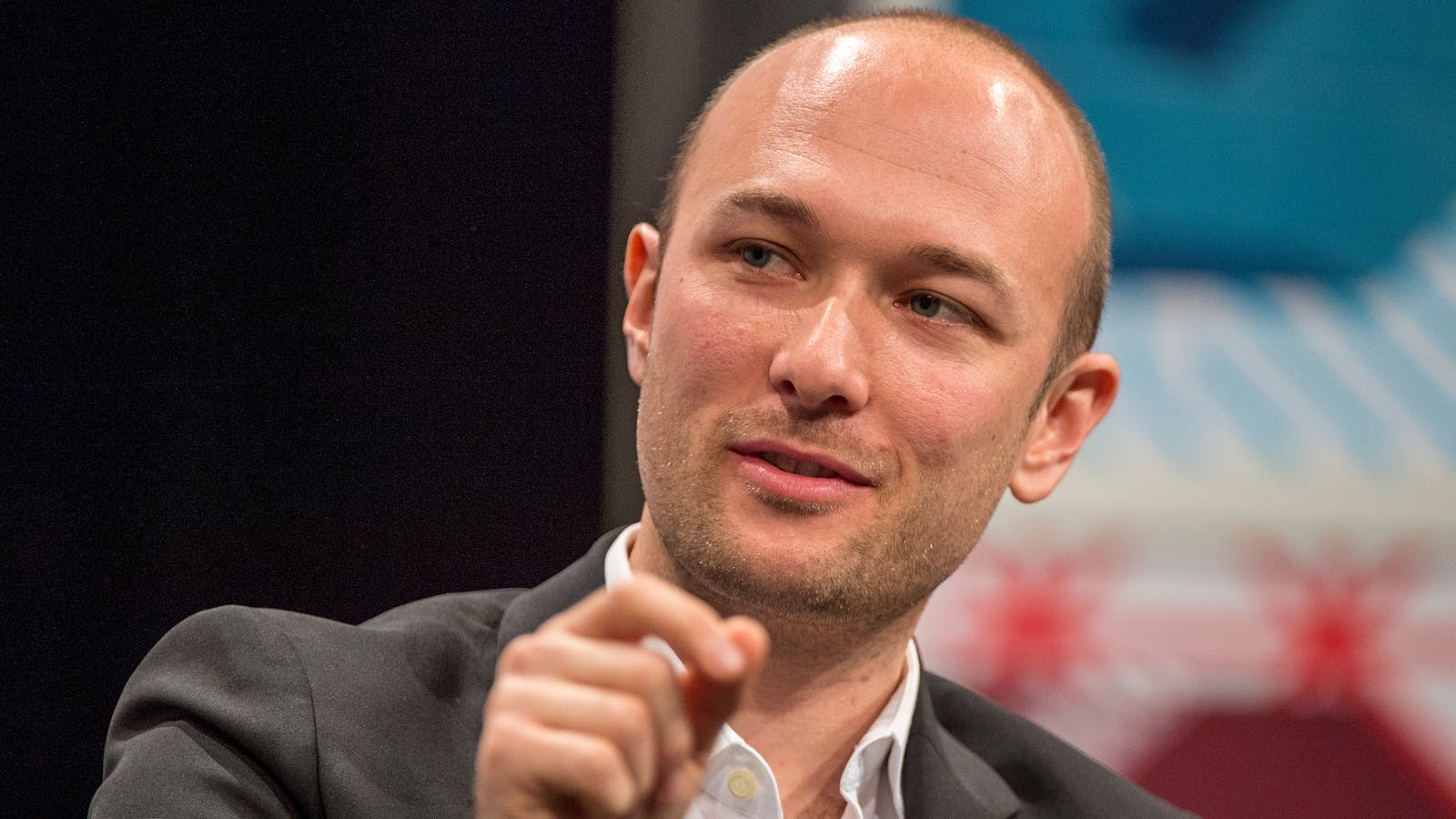 Lyft co-founder and CEO Logan Green. Photo by Bloomberg.