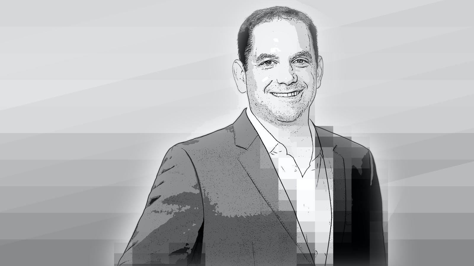 Andrew Morse, executive vice president of CNN US and head of CNN digital worldwide. Art by Matt Vascellaro.