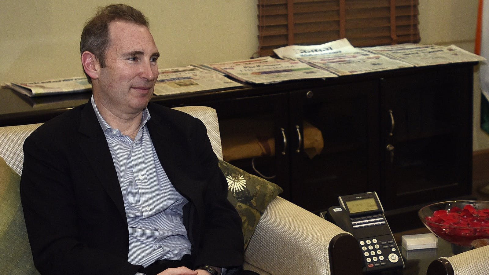 AWS CEO Andy Jassy. Photo by AP.