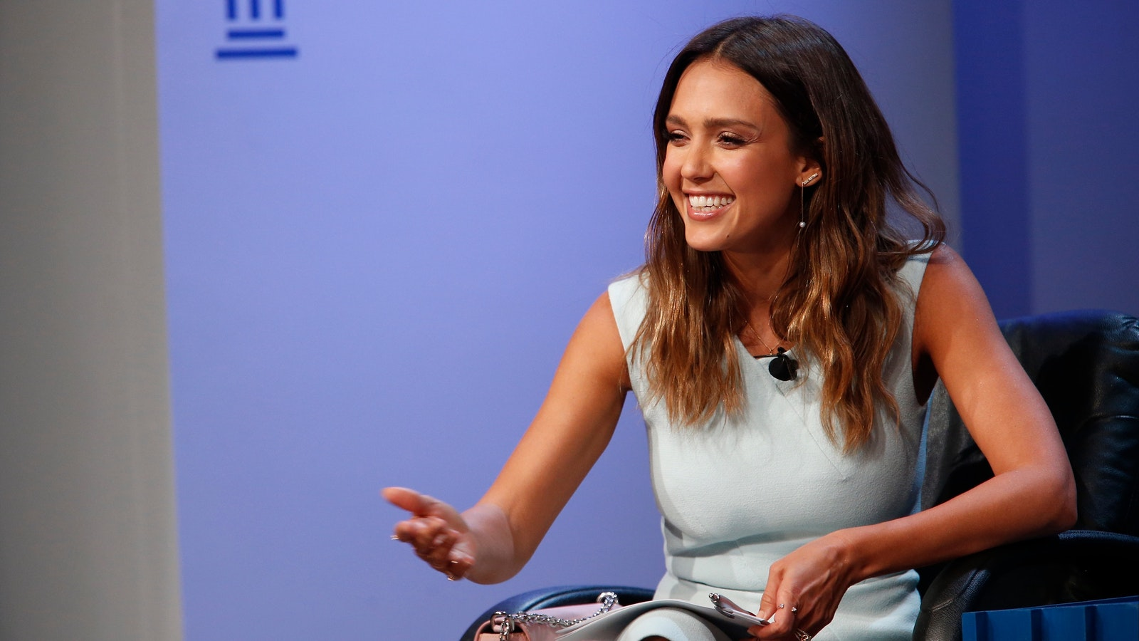 Honest Co. founder Jessica Alba. Photo by Bloomberg.
