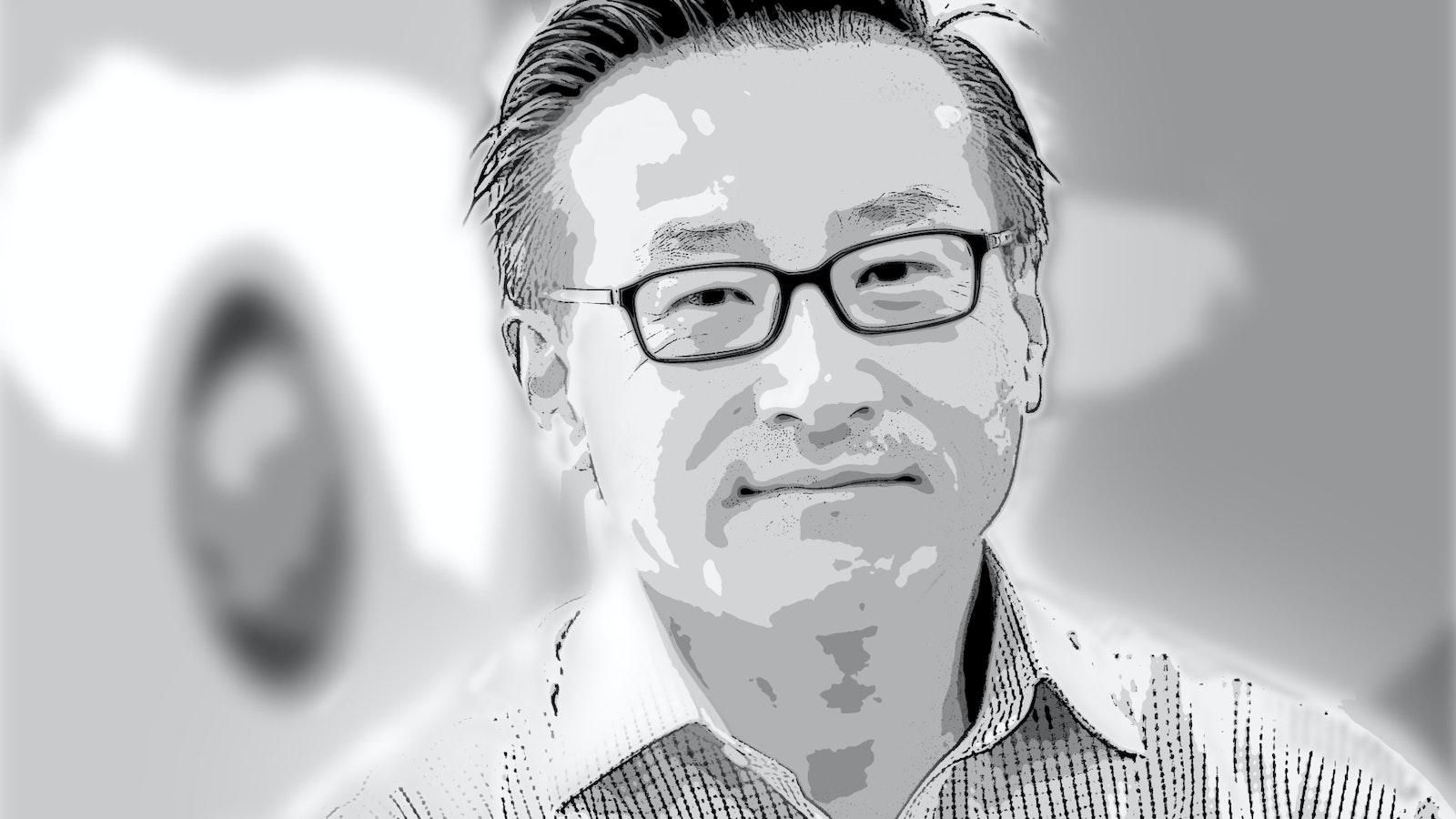 Alibaba Executive Vice Chairman Joe Tsai. Art by Matt Vascellaro.