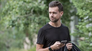 Twitter CEO Jack Dorsey. Photo by Bloomberg.