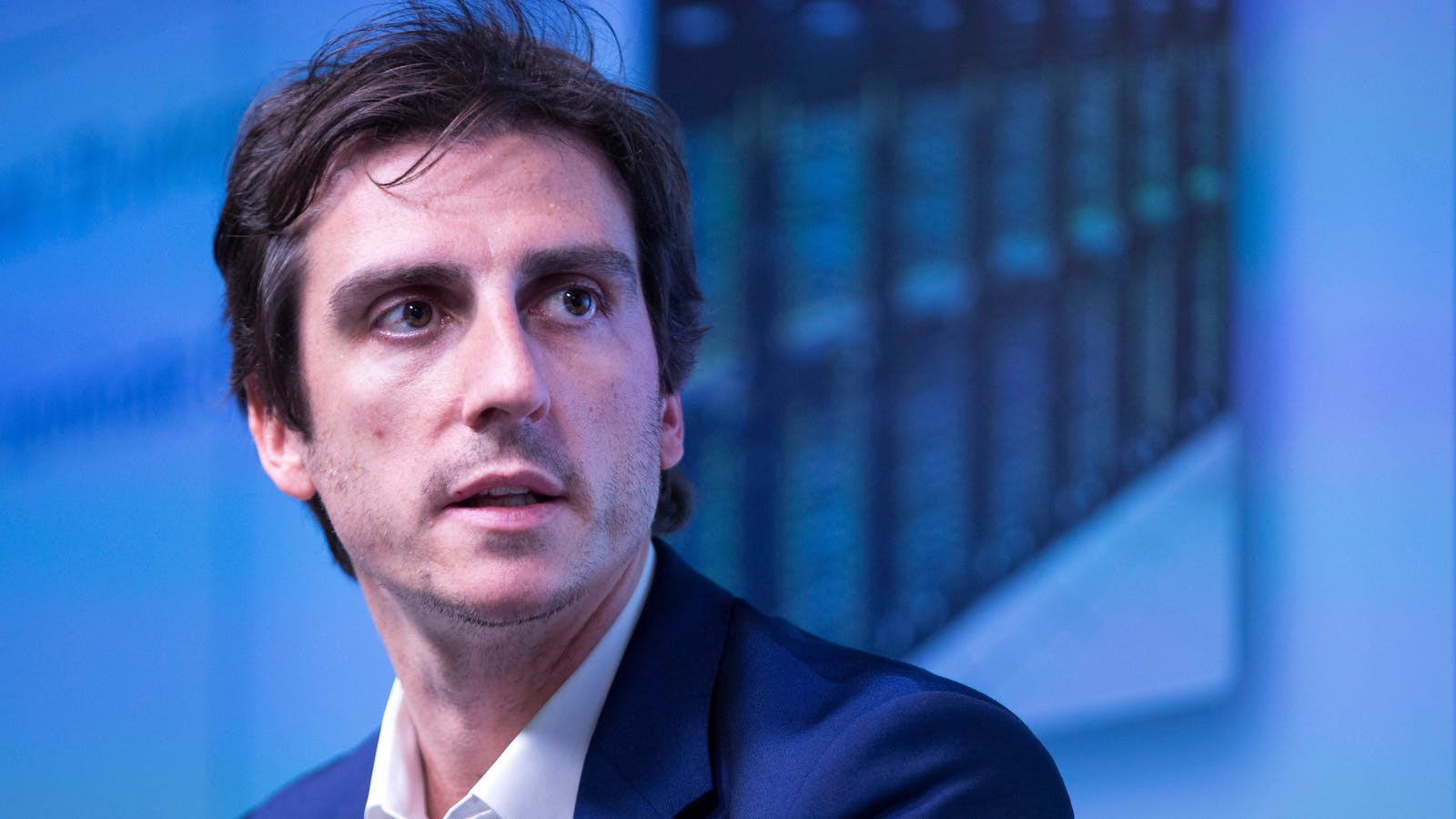 Facebook at Work's director Julien Codorniou. Photo by Bloomberg.