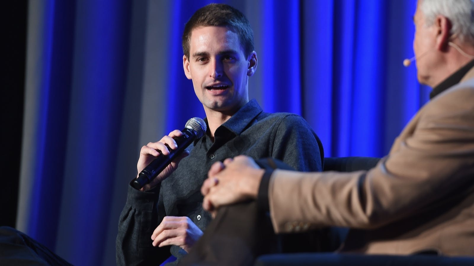 Snapchat CEO Evan Spiegel. Photo by Larry Busacca/Getty Images.