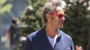 Palantir co-founder Alexander Karp. Photo by Bloomberg.