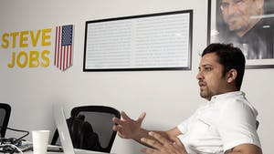Flipkart CEO Binny Bansal. Photo by Bloomberg.