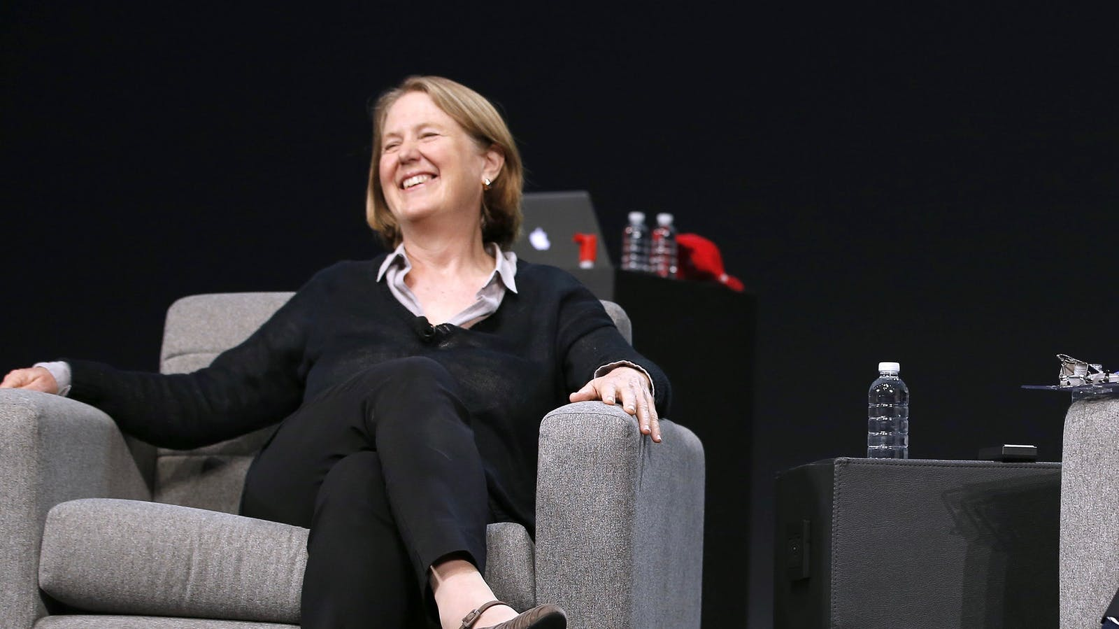 Google Cloud chief Diane Greene. Photo by Bloomberg.