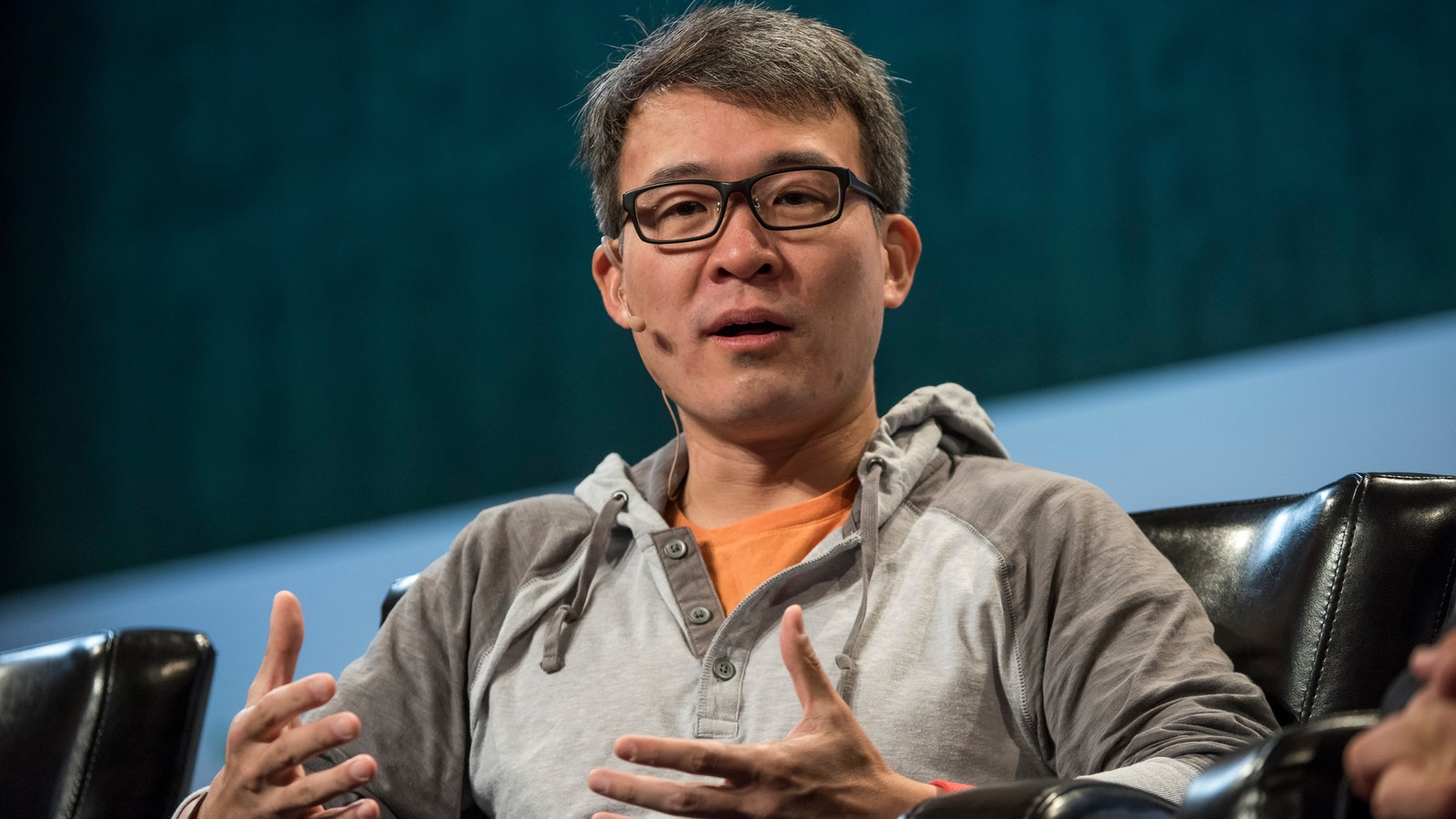 Fitbit CEO James Park. Photo by Bloomberg.