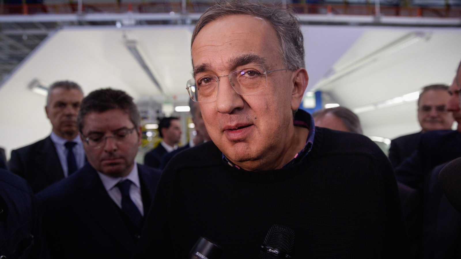 Fiat Chrysler CEO Sergio Marchionne. Photo by Bloomberg.