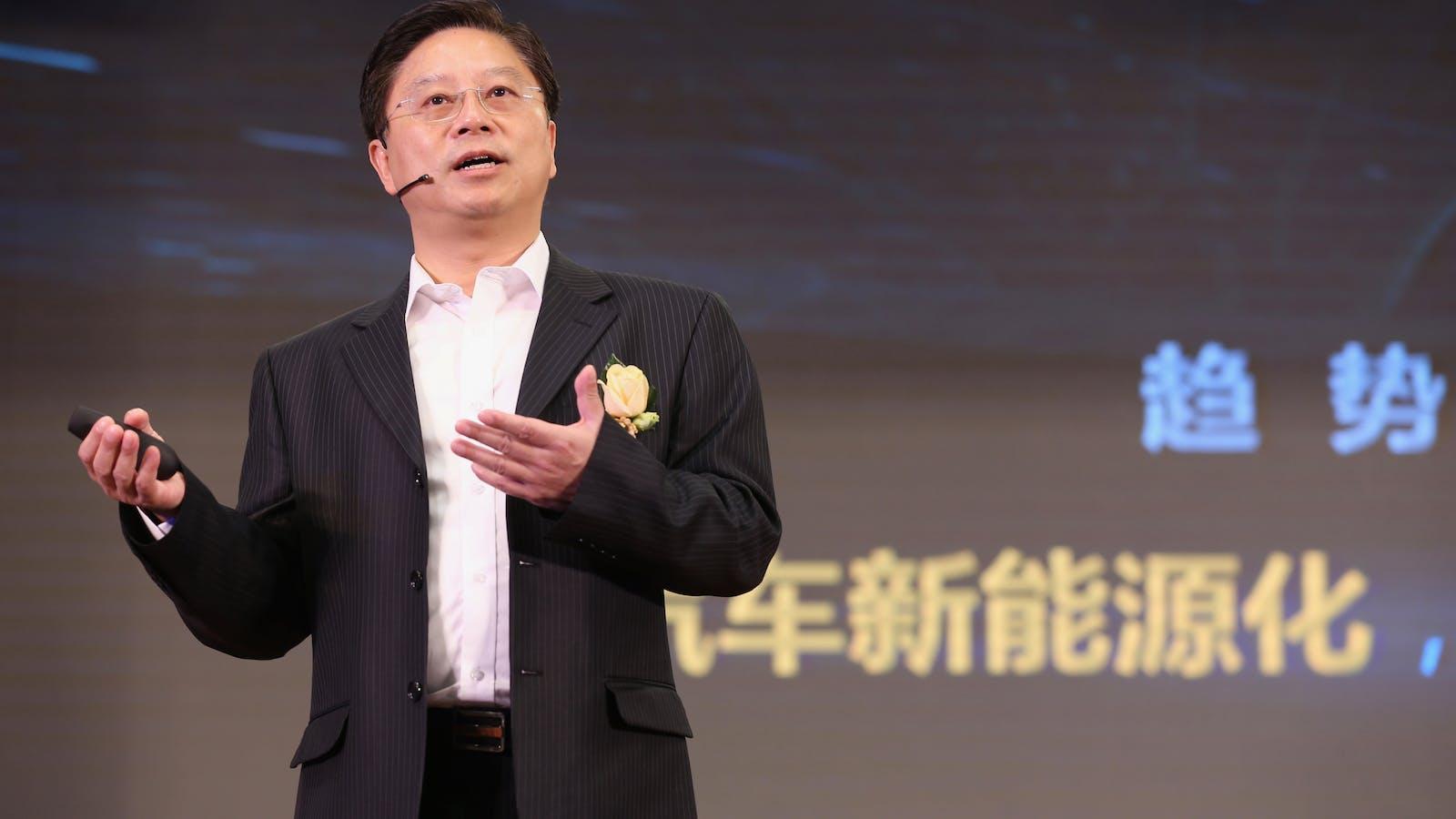 Jing Wang, head of Baidu's self driving car software unit. Photo by Baidu.