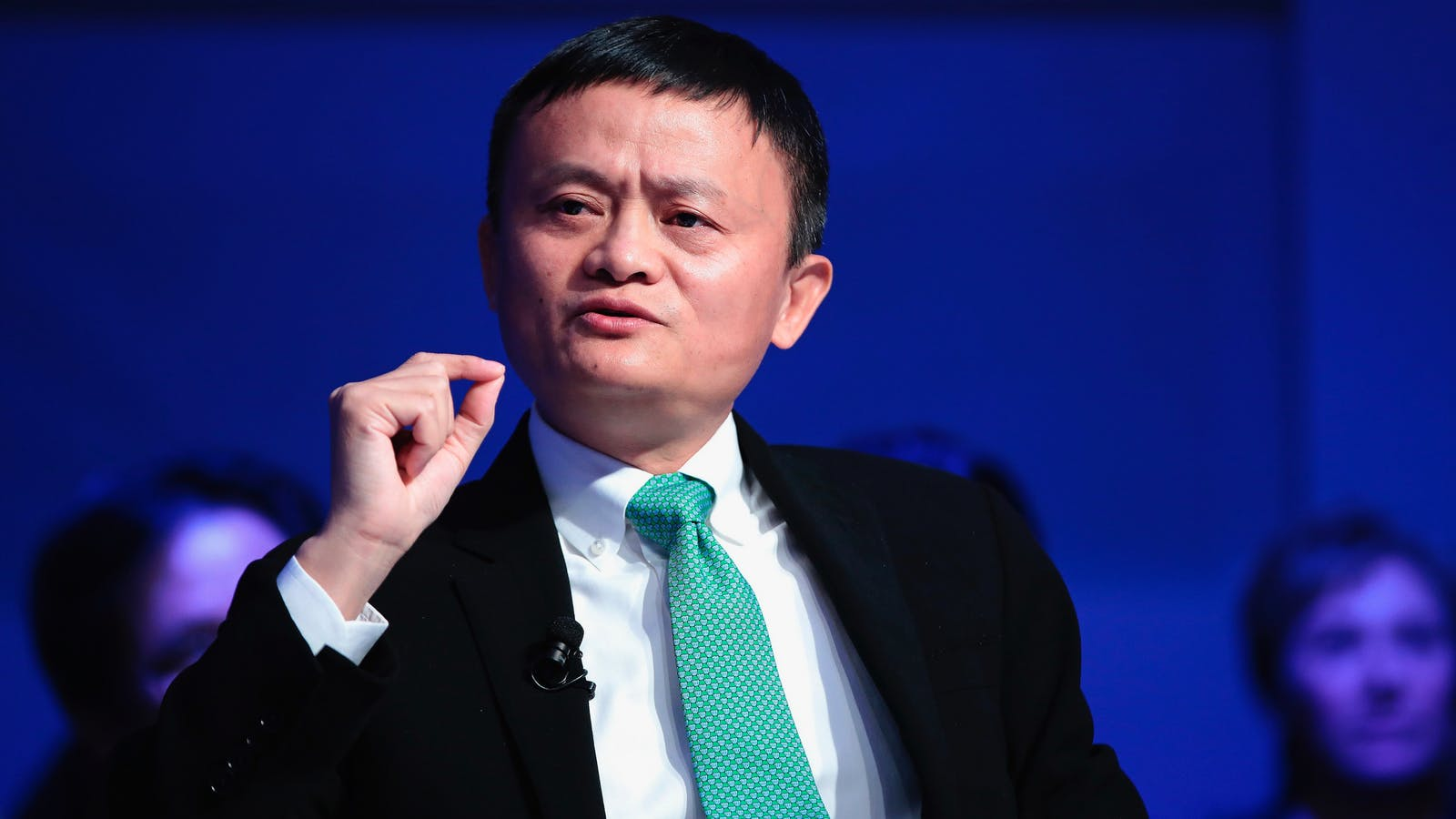 Alibaba founder Jack Ma. Photo by Bloomberg.