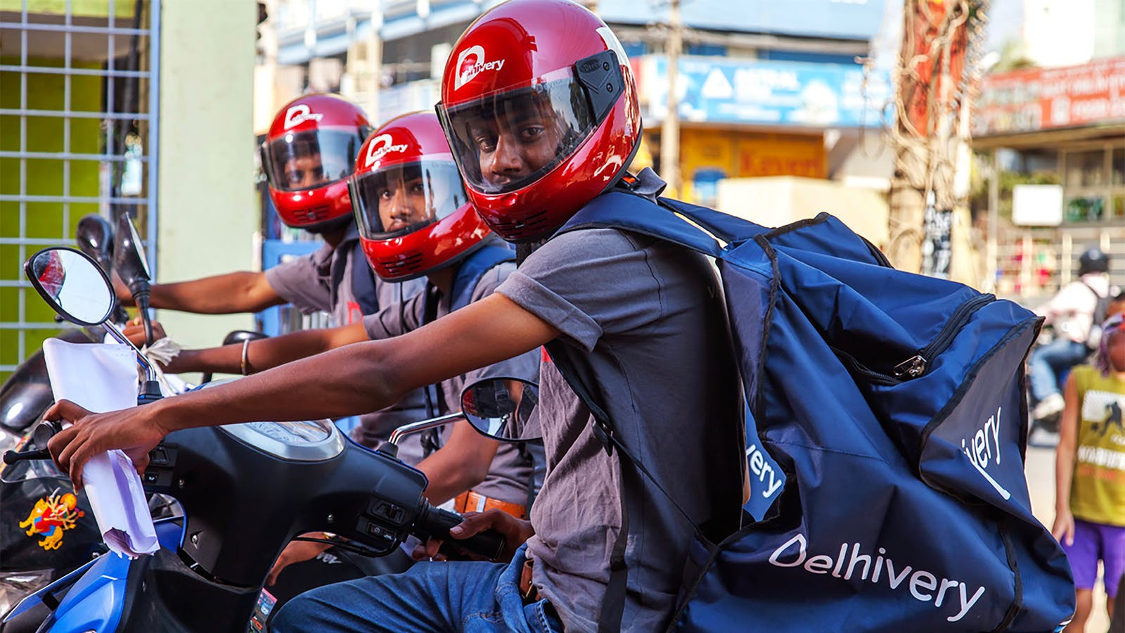 Delhivery couriers. Photo by Delhivery.