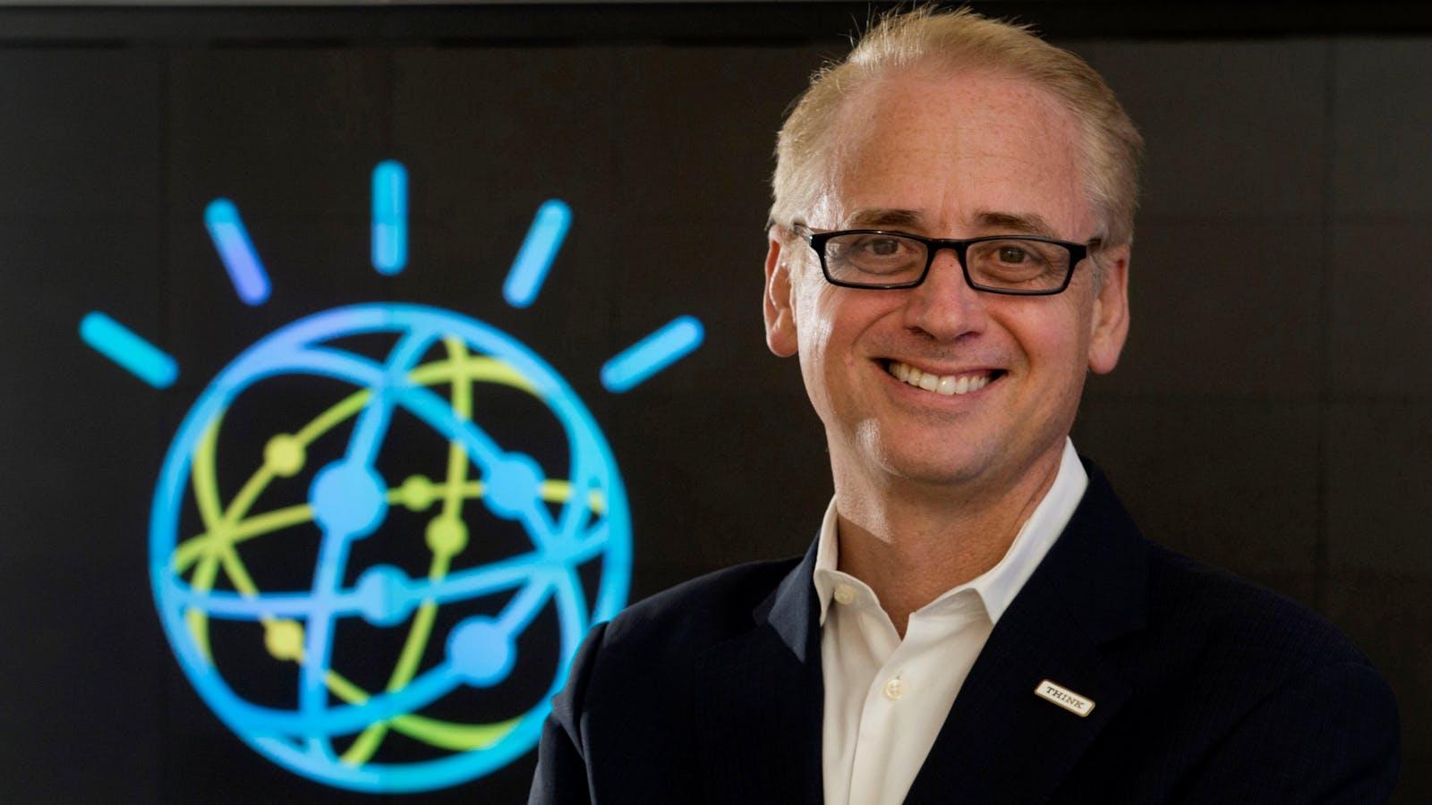 IBM Watson general manager David Kenny. Photo by AP.