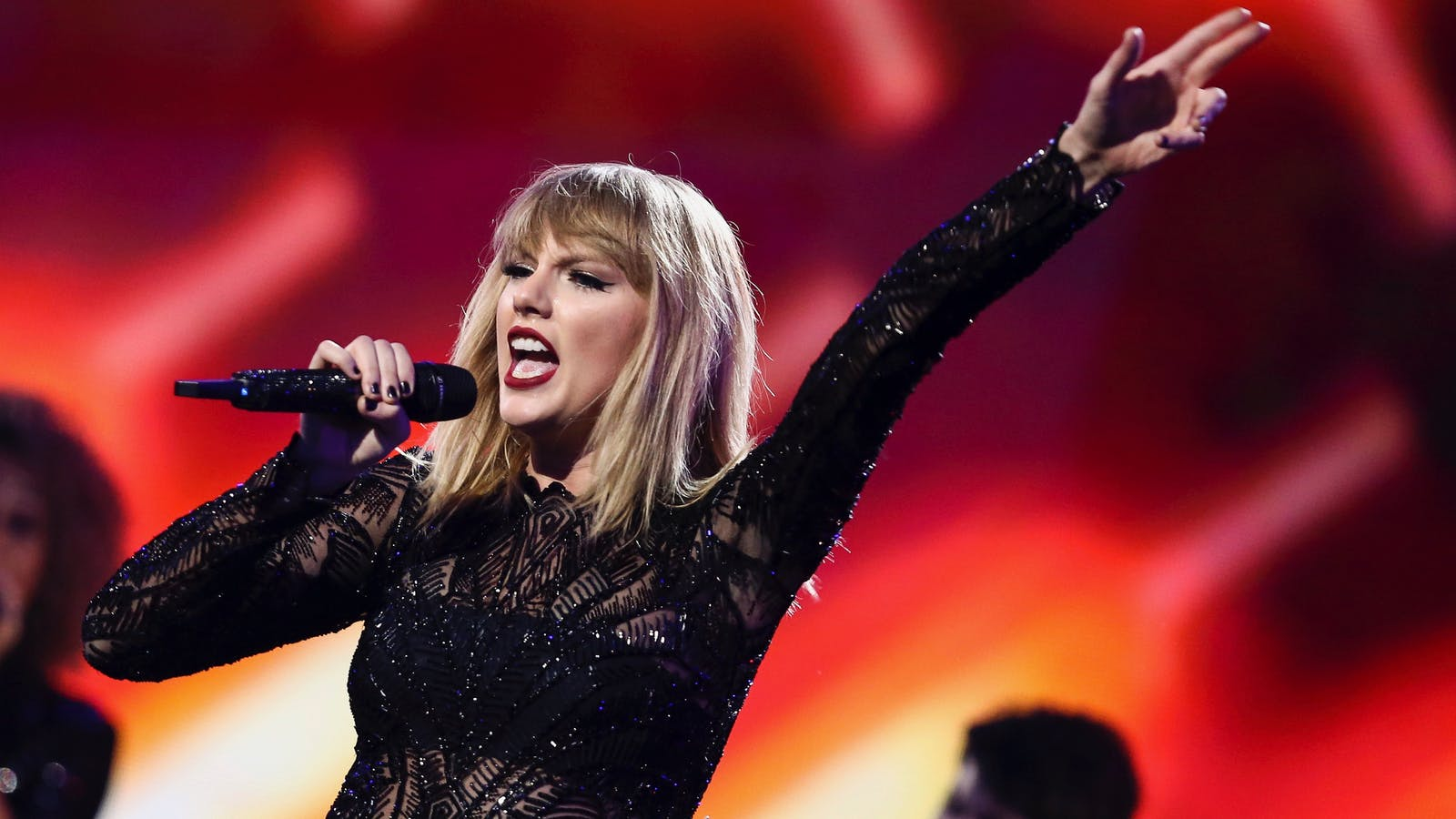 Taylor Swift at a DirecTV Now concert before the Super Bowl earlier this month. Photo by AP.