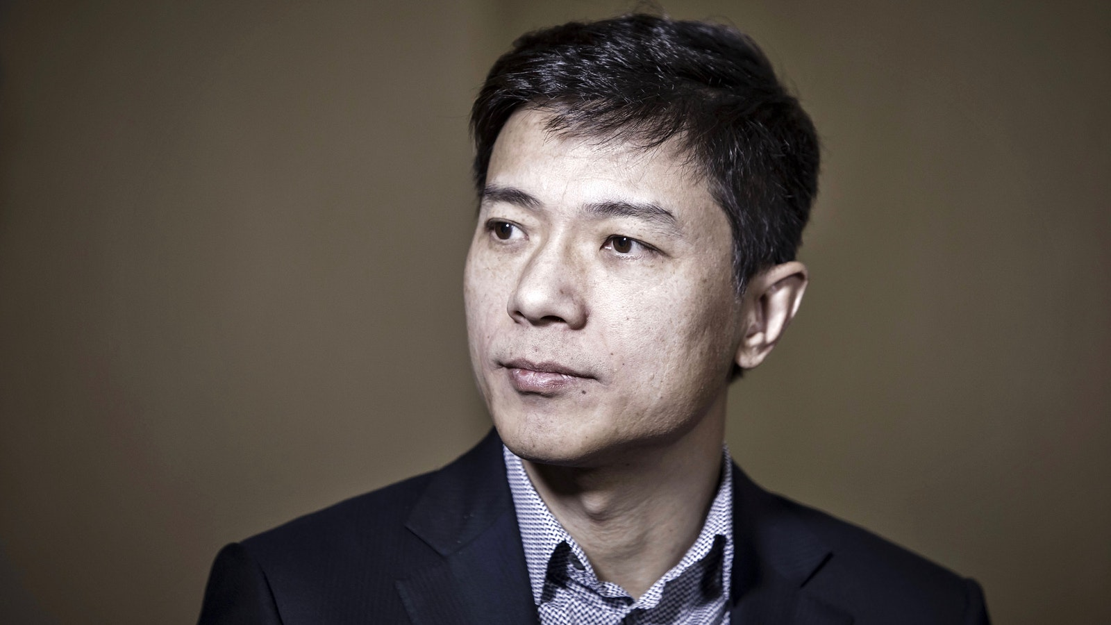 Baidu CEO Robin Li. Photo by Bloomberg.