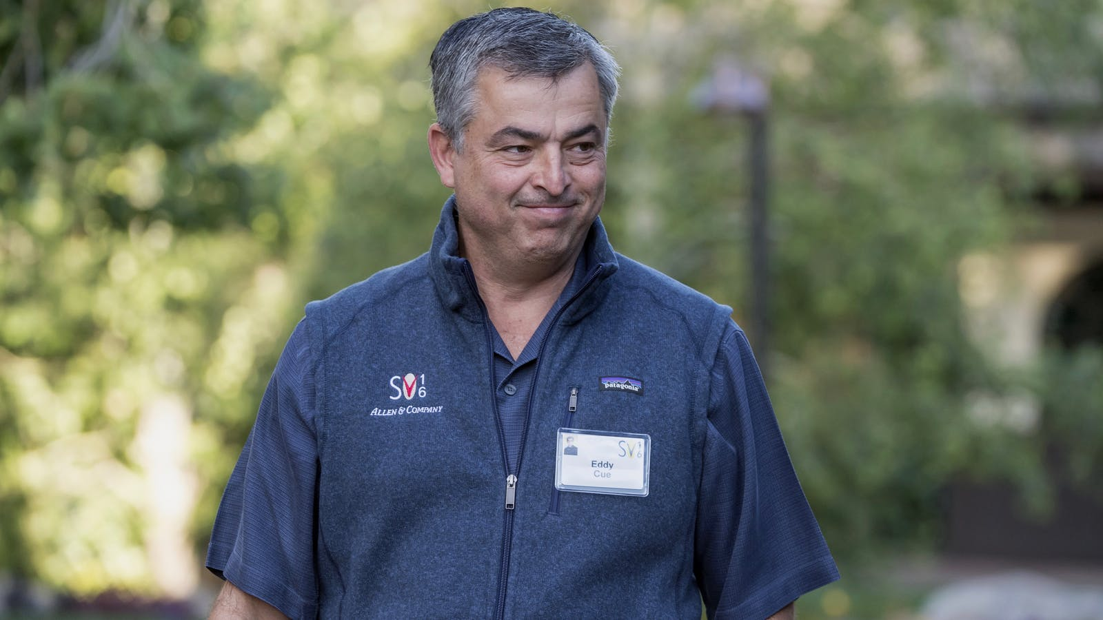 Eddy Cue, Apple's senior vice president of Internet software and services. Photo by Bloomberg.