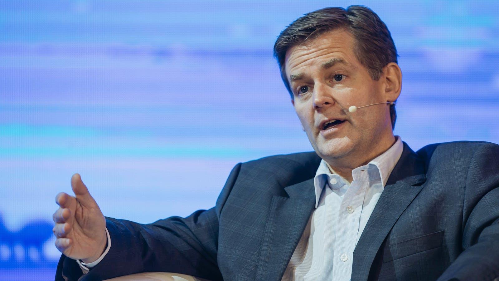 Douglas Feagin, Ant's senior vice president. Photo by Bloomberg.