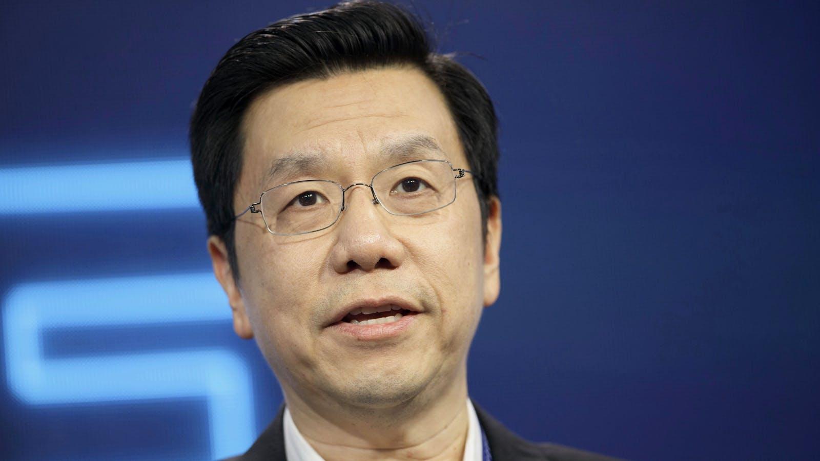 Sinovation founder Kai-Fu Lee. Photo by Bloomberg.