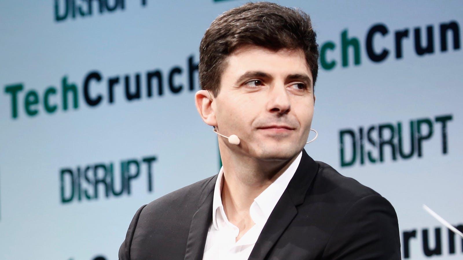 Dave Waiser, Gett CEO. Photo by Flickr/TechCrunch.