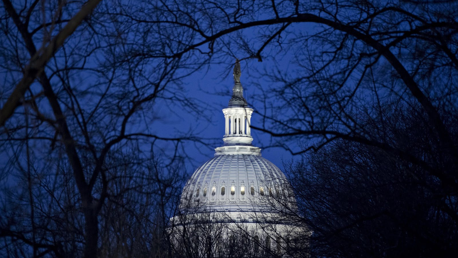 The U.S. Capitol. Photo by Bloomberg.