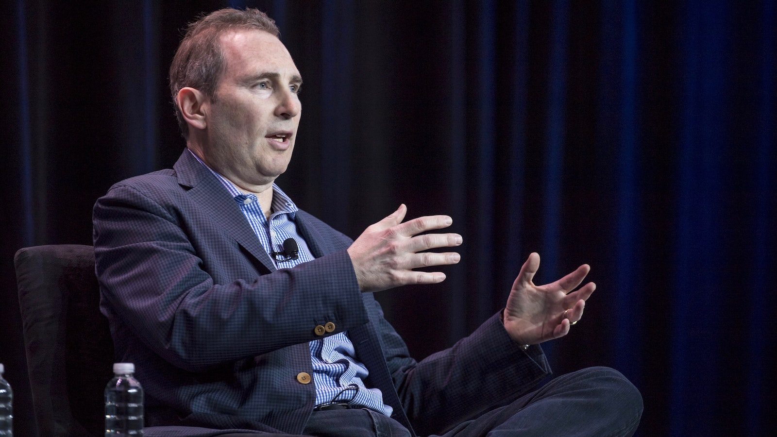 AWS CEO Andrew Jassy. Photo by Bloomberg.