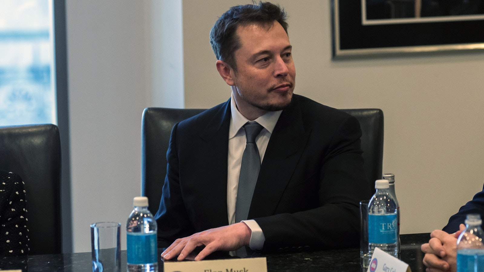 Elon Musk. Photo by Bloomberg.