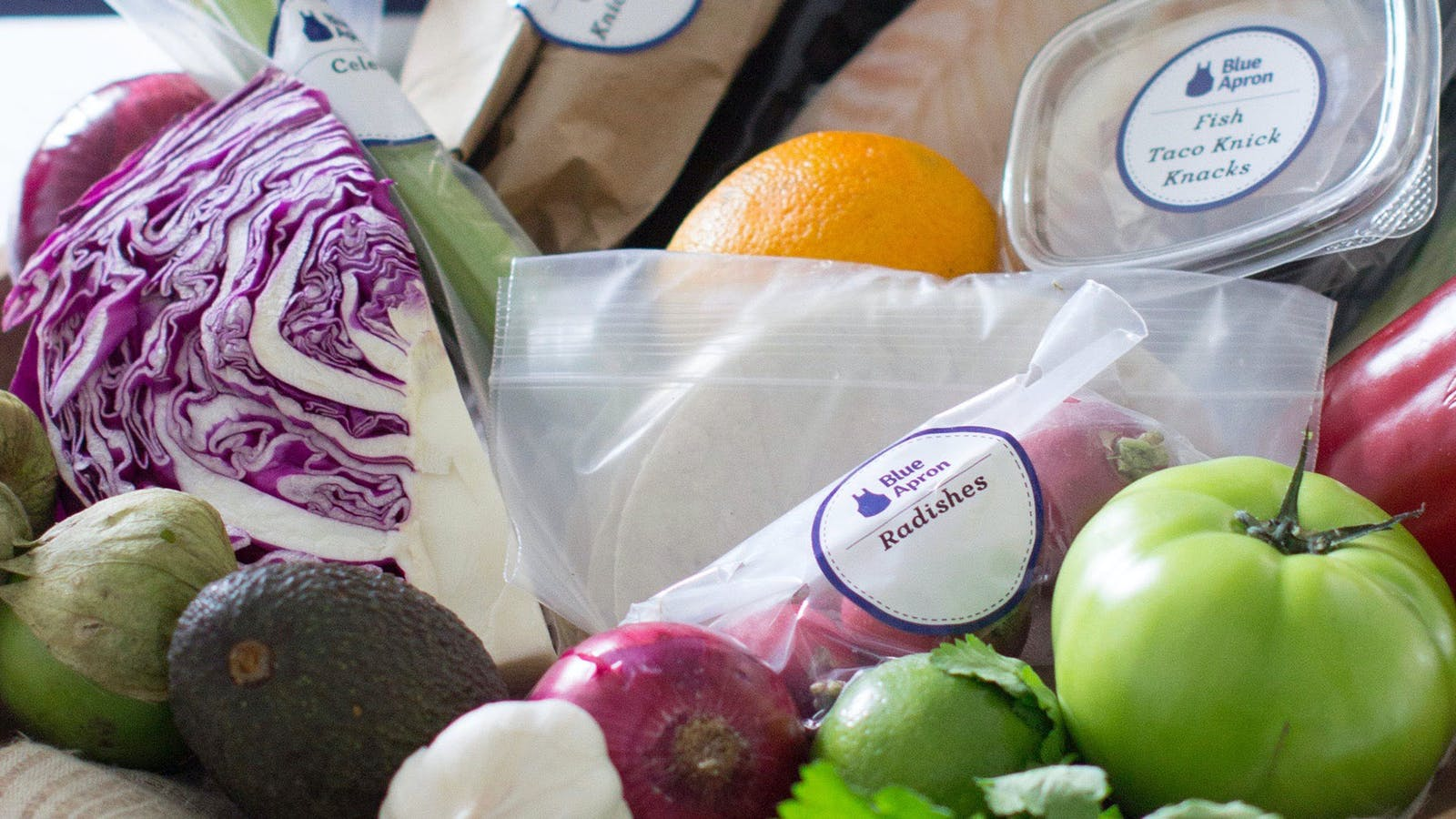 Blue Apron provides fresh ingredients for cooking. Photo by The Associated Press.