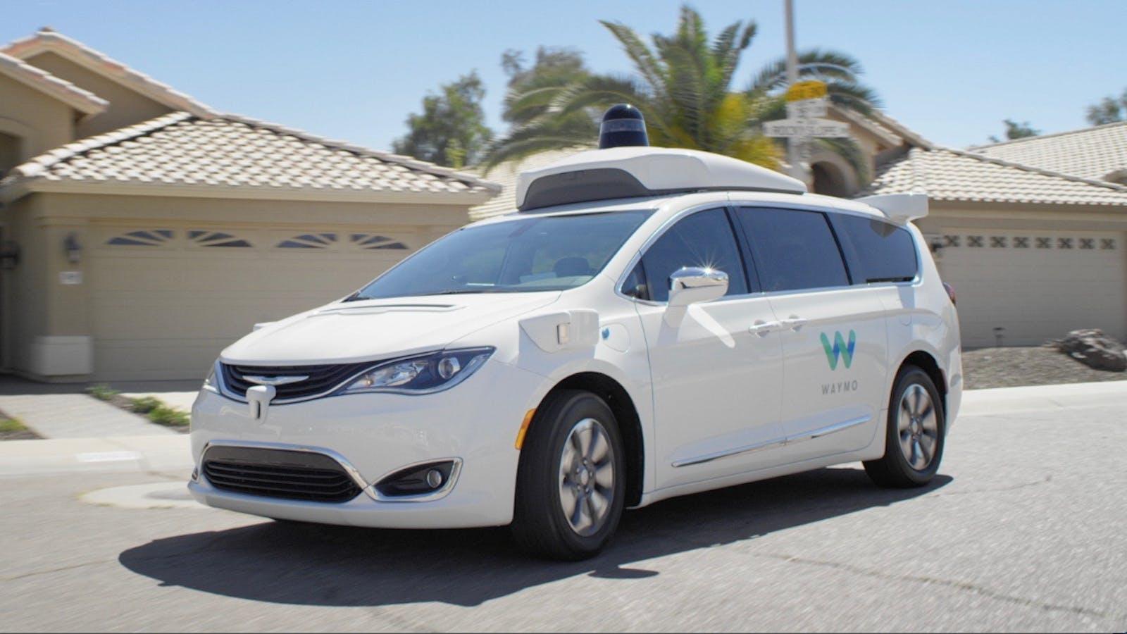 A Waymo minivan in Phoenix. Source: Waymo.