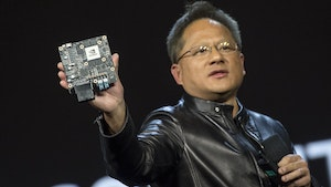 Nvidia CEO Jensen Huang. Photo by Bloomberg.