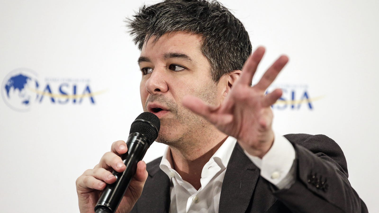 Travis Kalanick. Photo by Bloomberg.