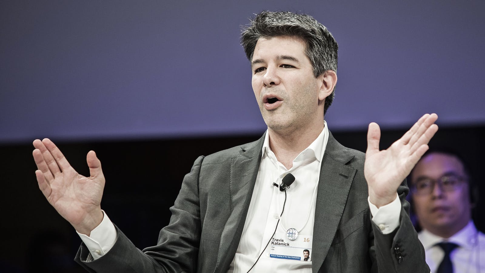 Uber's former CEO Travis Kalanick. Photo by Bloomberg.