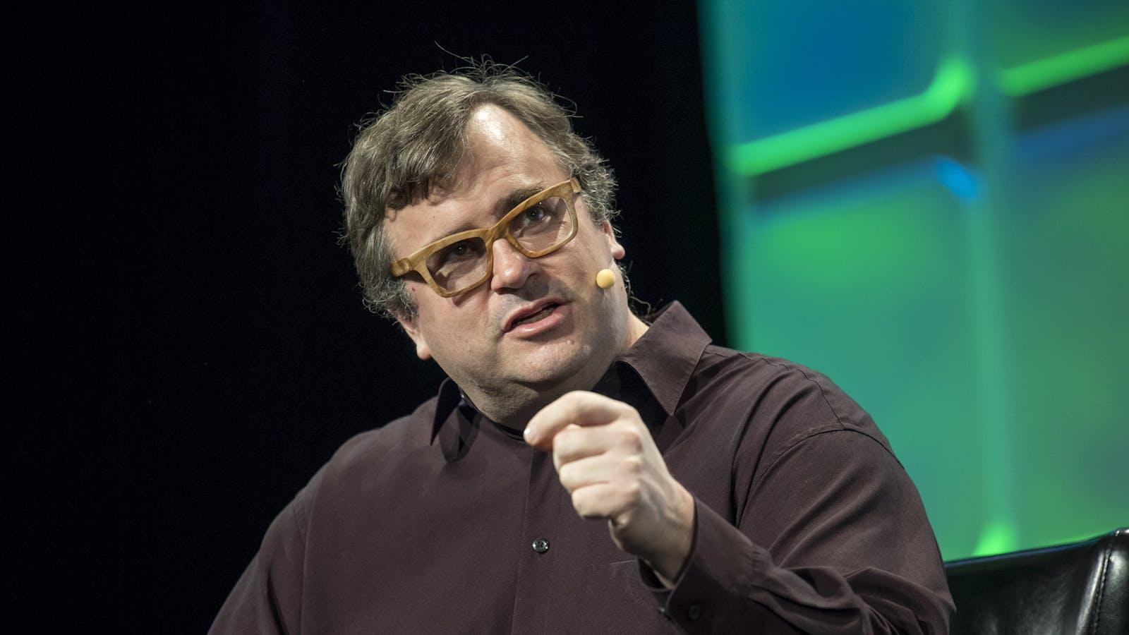 Reid Hoffman. Photo by Bloomberg.