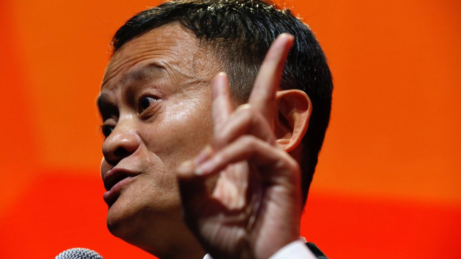 Alibaba Executive Chairman Jack Ma. Photo by Bloomberg.