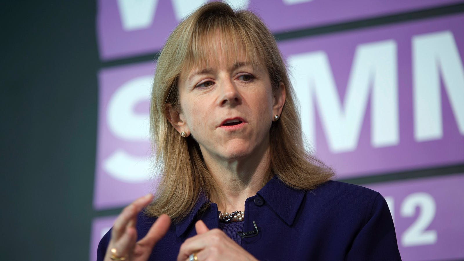Kate Mitchell, co-chair of the NVCA diversity task force. Photo by Bloomberg.
